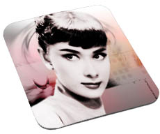 Mouse Pad Audry Helburn